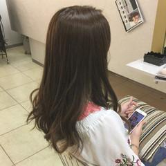 上品 外国人風 インナーカラー アッシュ ヘアスタイルや髪型の写真・画像