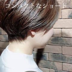 ショート ショートボブ ベリーショート ナチュラル ヘアスタイルや髪型の写真・画像