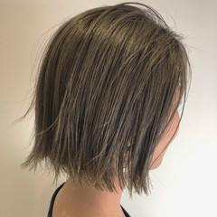 アウトドア 外ハネ ナチュラル 透明感 ヘアスタイルや髪型の写真・画像