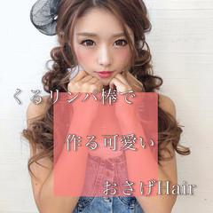 ヘアアレンジ ヘアセット 大人可愛い フェミニン ヘアスタイルや髪型の写真・画像