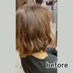 最新トリートメント 艶髪 ナチュラル トリートメント ヘアスタイルや髪型の写真・画像