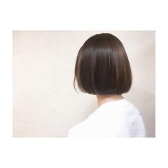 大人かわいい アッシュ センターパート タンバルモリ ヘアスタイルや髪型の写真・画像