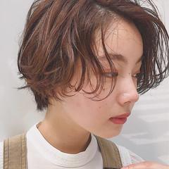 抜け感 涼しげ アウトドア 夏 ヘアスタイルや髪型の写真・画像