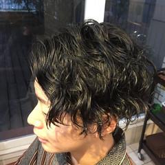 メンズヘア 黒髪 ショート メンズスタイル ヘアスタイルや髪型の写真・画像