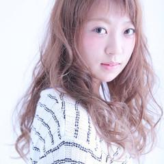 ガーリー 大人かわいい ゆるふわ 外国人風 ヘアスタイルや髪型の写真・画像