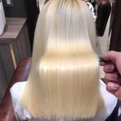 艶髪 トリートメント ミディアム ツヤ ヘアスタイルや髪型の写真・画像