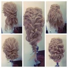 ナチュラル フェミニン ガーリー ロング ヘアスタイルや髪型の写真・画像