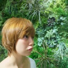 ナチュラル ハイトーン ショート 卵型 ヘアスタイルや髪型の写真・画像