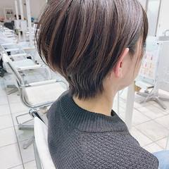 ショートヘア ボブ ミニボブ ショートボブ ヘアスタイルや髪型の写真・画像