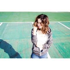 冬 外国人風 ストリート 色気 ヘアスタイルや髪型の写真・画像