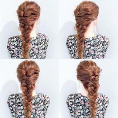上品 デート 簡単ヘアアレンジ 涼しげ ヘアスタイルや髪型の写真・画像
