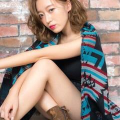 ストリート パーマ 渋谷系 大人かわいい ヘアスタイルや髪型の写真・画像