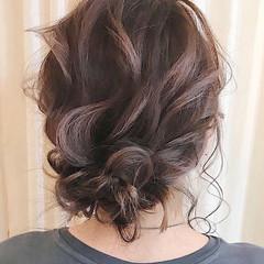 ヘアアレンジ ブルージュ 結婚式ヘアアレンジ 簡単ヘアアレンジ ヘアスタイルや髪型の写真・画像