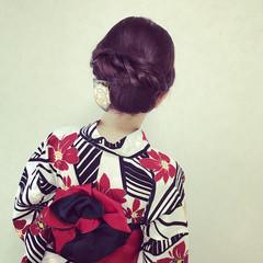 女子会 エレガント 上品 セミロング ヘアスタイルや髪型の写真・画像
