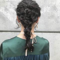 ナチュラル ヘアアレンジ 簡単ヘアアレンジ アンニュイほつれヘア ヘアスタイルや髪型の写真・画像