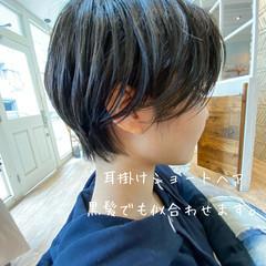 ショート 小顔ショート ベリーショート ショートボブ ヘアスタイルや髪型の写真・画像