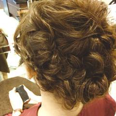 ショート ミディアム 大人かわいい 簡単ヘアアレンジ ヘアスタイルや髪型の写真・画像