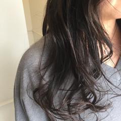 ナチュラル 暗髪 ロング 艶髪 ヘアスタイルや髪型の写真・画像