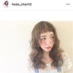 ウェーブ ロング 外国人風 ガーリー ヘアスタイルや髪型の写真・画像