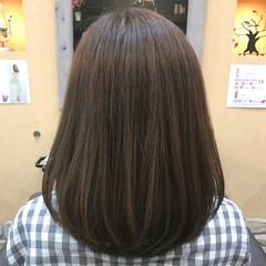 外国人風カラー ワンレングス ナチュラル 透明感 ヘアスタイルや髪型の写真・画像