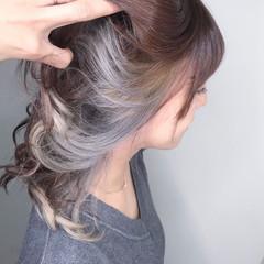 ベリーショート デート ナチュラル ハイライト ヘアスタイルや髪型の写真・画像