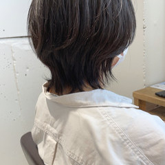 ウルフカット ショートボブ 大人女子 ショート ヘアスタイルや髪型の写真・画像
