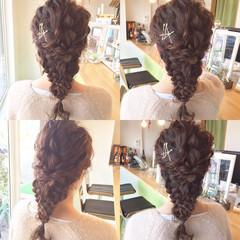 大人かわいい 結婚式 ミディアム ショート ヘアスタイルや髪型の写真・画像