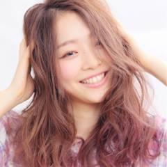 モテ髪 ゆるふわ 愛され グラデーションカラー ヘアスタイルや髪型の写真・画像