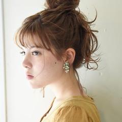 ヘアアレンジ デート 大人かわいい 簡単ヘアアレンジ ヘアスタイルや髪型の写真・画像