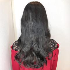 ロング 韓国ヘア エレガント 髪質改善トリートメント ヘアスタイルや髪型の写真・画像