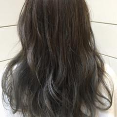 アッシュ モード グラデーションカラー 外国人風 ヘアスタイルや髪型の写真・画像