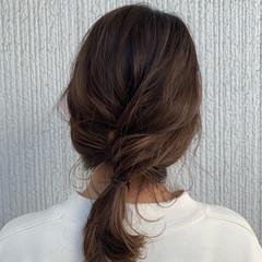ヘアアレンジ 簡単ヘアアレンジ ナチュラル デート ヘアスタイルや髪型の写真・画像