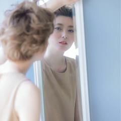 まとめ髪 フェミニン 編み込み 透明感 ヘアスタイルや髪型の写真・画像