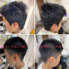フェードカット スキンフェード ストリート ショートヘア ヘアスタイルや髪型の写真・画像