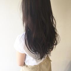 透明感 ロング アッシュ 外国人風 ヘアスタイルや髪型の写真・画像