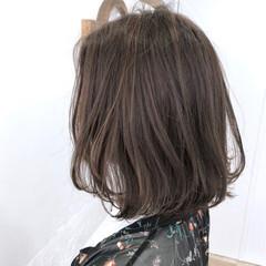 ヘアアレンジ ボブ 夏 ナチュラル ヘアスタイルや髪型の写真・画像