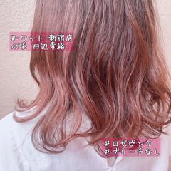 ウルフカット コンサバ 切りっぱなしボブ 髪質改善カラー ヘアスタイルや髪型の写真・画像