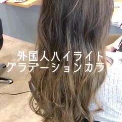 上品 エレガント 外国人風カラー 透明感 ヘアスタイルや髪型の写真・画像