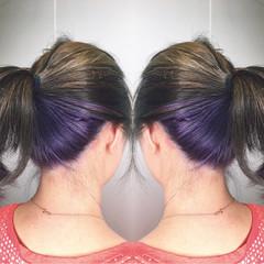 外国人風 ミディアム アウトドア ストリート ヘアスタイルや髪型の写真・画像
