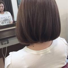 フェミニン グレージュ 大人かわいい グレー ヘアスタイルや髪型の写真・画像