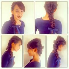 ヘアアレンジ モテ髪 ゆるふわ 簡単ヘアアレンジ ヘアスタイルや髪型の写真・画像