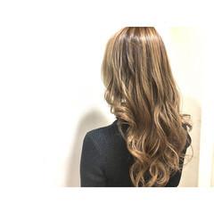 アッシュ フリンジバング インナーカラー ハイライト ヘアスタイルや髪型の写真・画像