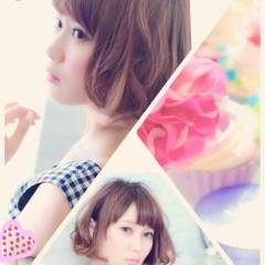 モテ髪 コンサバ 大人かわいい フェミニン ヘアスタイルや髪型の写真・画像