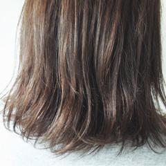 ボブ 暗髪 外国人風 グレージュ ヘアスタイルや髪型の写真・画像