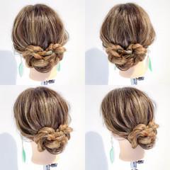 ロング ナチュラル ヘアアレンジ 雨の日 ヘアスタイルや髪型の写真・画像