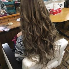 デート ロング エレガント 女子力 ヘアスタイルや髪型の写真・画像