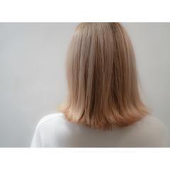 ゆるふわ ボブ グラデーションカラー ハイライト ヘアスタイルや髪型の写真・画像