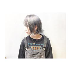 外国人風カラー アッシュ ストリート マッシュ ヘアスタイルや髪型の写真・画像