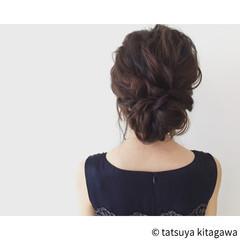 ゆるふわ 結婚式 花嫁 外国人風 ヘアスタイルや髪型の写真・画像