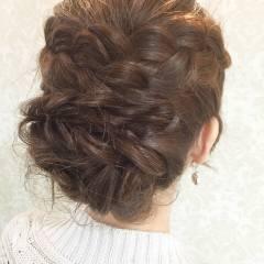 ガーリー フェミニン 愛され 春 ヘアスタイルや髪型の写真・画像